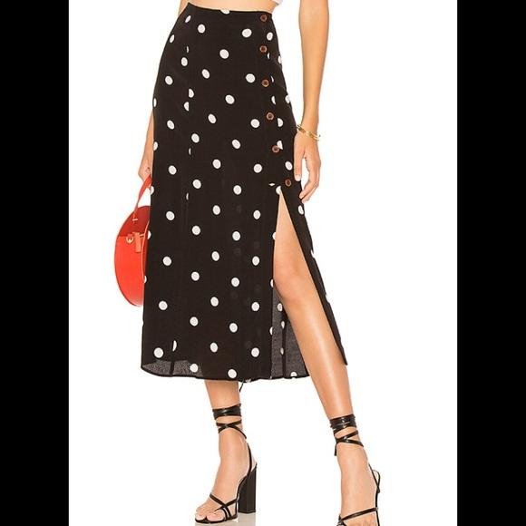 5f5632bdf1 Free People Skirts | Retro Love Midi Skirt | Poshmark